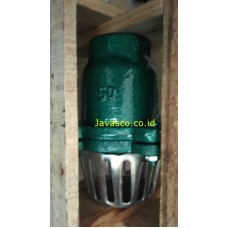 Foot Valve Cast Iron Jis 10k Screw MIZU