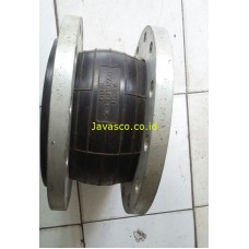 Dynaflex Rubber Flexible joint Flange Stainless Steel TOZEN
